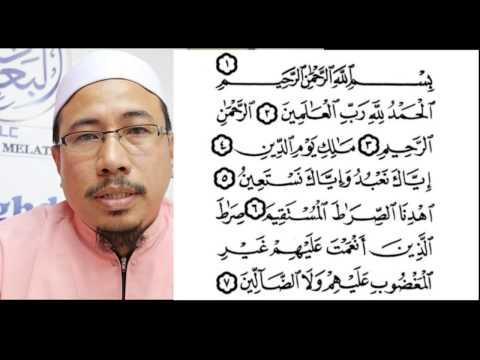 Ustaz Fazley Surah Al Fatihah (Neuro NADI Al Baghdadi)