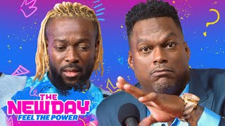 Getting hyped with LaVar Arrington: The New Day: Feel the Power