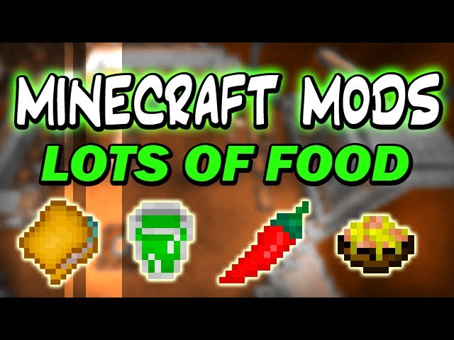 Lots of food mod 11021941710172 azminecraftfo forumfinder Image collections