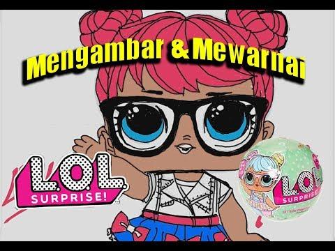 Download Cara Menggambar Boneka Lol Rocker Dan Mewarnai Gambar Untuk