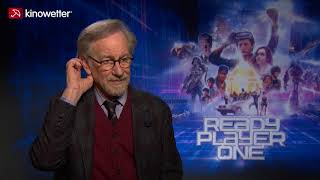 Interview Steven Spielberg READY PLAYER ONE