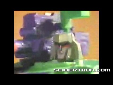 Transformers G2 Megatron tank Generation 2 commercial 1993 #1