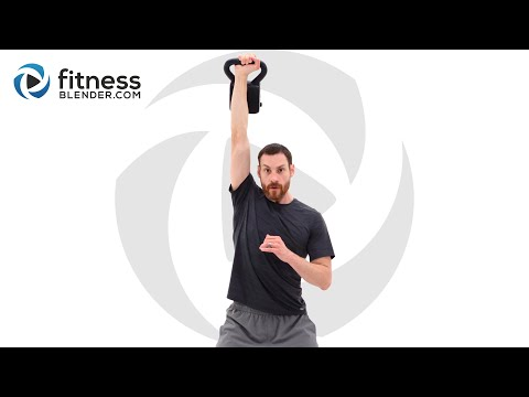 Quick Sweat Kettlebell and Jump Rope Workout Strength and Cardio Workout
