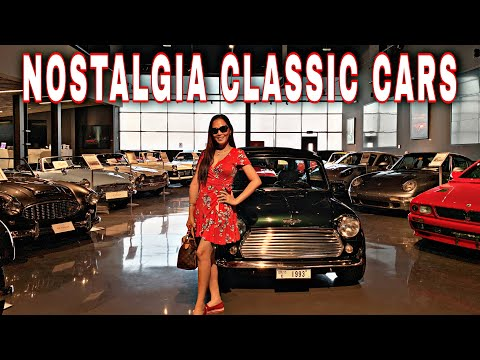 Nostalgia Classic Cars Gallery at Al Serkal Avenue, Al Quoz, Dubai | Dubai Best Vintage Cars Gallery