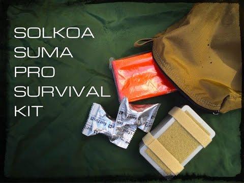 Special Operations Survival Kit- SOLKOA SUMA Pro