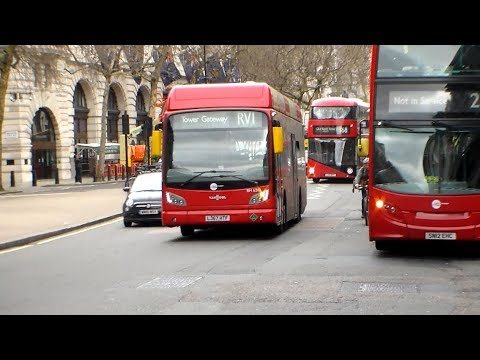 Buses at Aldwych 07/04/2018