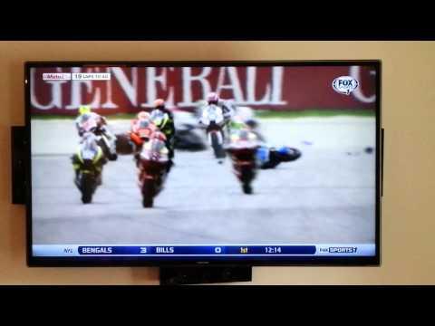 Malaysian Grand Prix Moto GP Crash 10/13/13