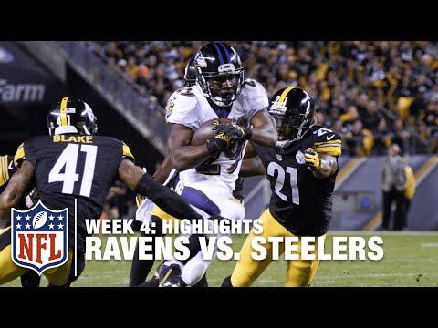 Ravens vs. Steelers | Week 4 Highlights | NFL