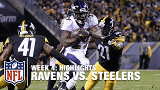 Ravens vs. Steelers | Week 4 Highlights | NFL