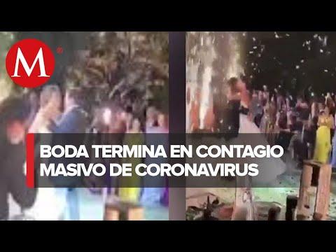 Boda en Torreón deja al menos 90 personas con covid-19