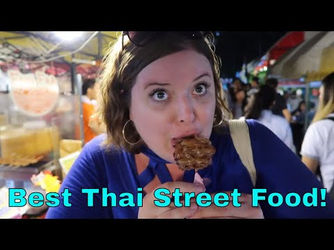 Best Bangkok Local Night Market | Thailand Travel Vlog
