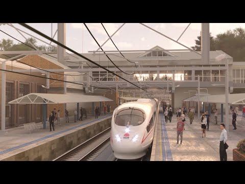 New high speed rail network announced by NSW Government