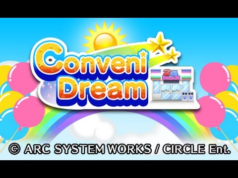3DS eShop Game Conveni Dream Game Introduction