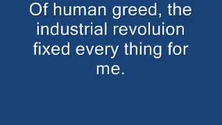 The Industrial Revolution and how it ruined my life)   Voltaire with Lyrics