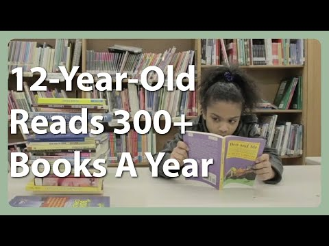 Ambitious 12-Year-Old Reads 300+ Books A Year