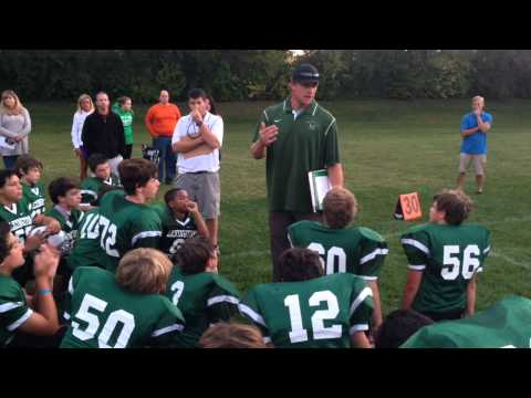 Chad Pennington coaching at The Lexington School