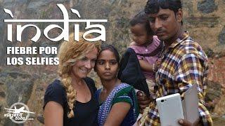 Fiebre por los selfies en la India