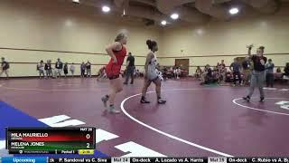 WOMEN (HS) 164 Mila Mauriello Nevada Vs Melena Jones Missouri
