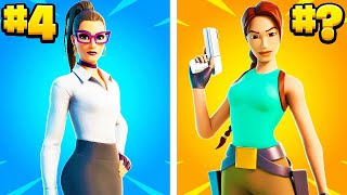 The SWEATIEST Battle Pass Skins in Fortnite