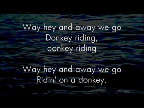 Donkey Riding - Great Big Sea - Lyrics ,