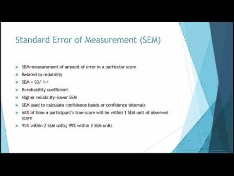 PSY 370 Lecture 2 Reliability