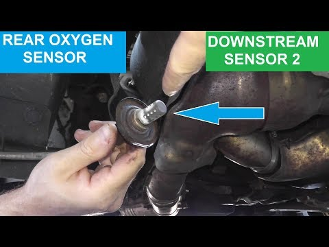 Rear Oxygen Sensor P0037 and P0038 | Testing and Replacement