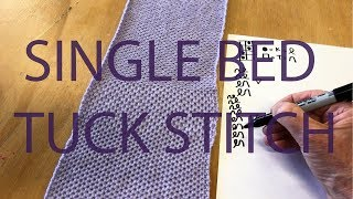 Single Bed Tuck Stitch on The …