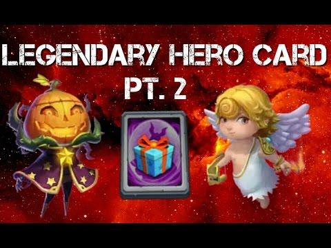 Castle Clash Special Legendary Hero Card Pt.2!