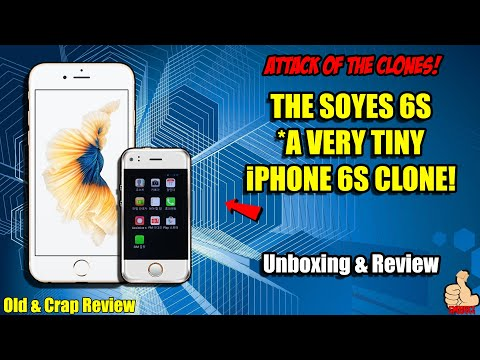 WORLD'S SMALLEST PHONES 2: The TINY iPhone 6S Clone - The PhoneBaby/SOYES 6S (Test & Review!)