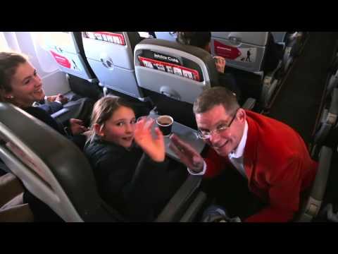 Jetstar chief turns onboard barista for StarKids