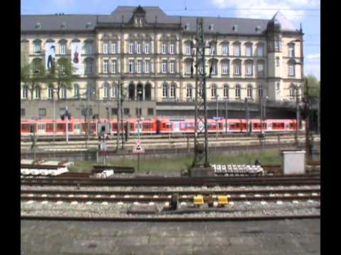 Hamburg Hauptbahnhof: Part One (Tuesday 29th April 2014)