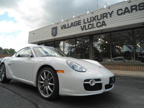 2008 Porsche Cayman S in review - Village Luxury Cars Toronto