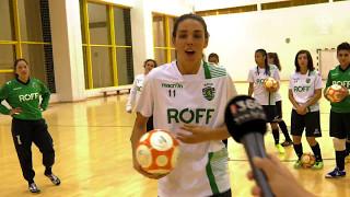 Taça de Portugal Futsal: Bola ao ângulo da equipa feminina do Sporting CP
