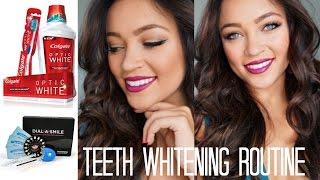 My Teeth Whitening Routine♡ Thumbnail
