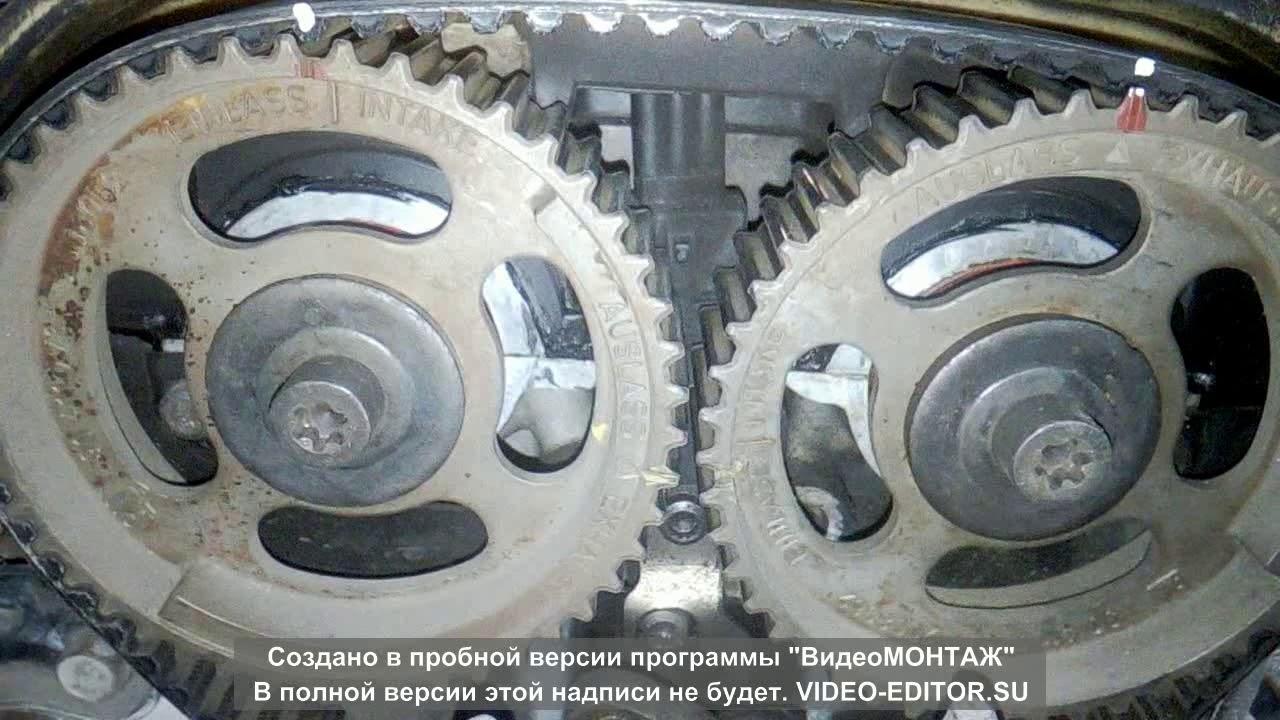 шевроле лачетти 1.8 замена ремня ГРМ и помпы! - YouTube
