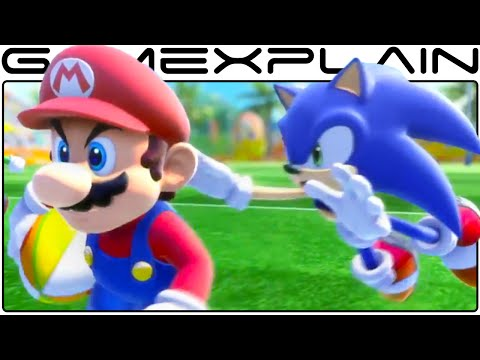 Mario & Sonic at the Rio Olympic Games - Overview Trailer + amiibo (Japanese)