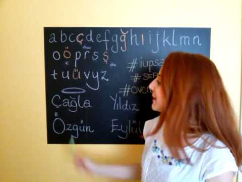 IPSF xSEPress series learn Turkish by IUPSAint, Lesson 1 Alphabet