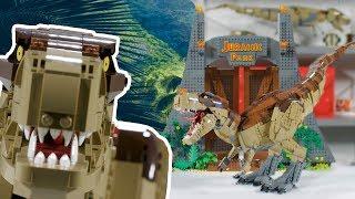 Jurassic Park: T. rex Rampage | LEGO Jurassic World Designer Video | 75936