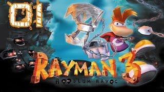 Rayman 3 Gameplay ITA #1 Il ritorno della melanzana antropomorfa