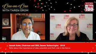Suresh Katta, Saama Technologies – 2020 PharmaVOICE 100 Celebration