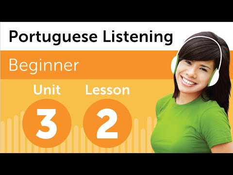 Brazilian Portuguese Listening Practice - Choosing a Delivery Time in Brazil