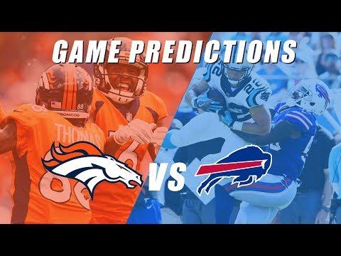 Denver Broncos vs Buffalo Bills Predictions