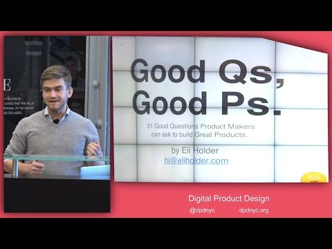 Digital Product Design - Good Questions, Great Products
