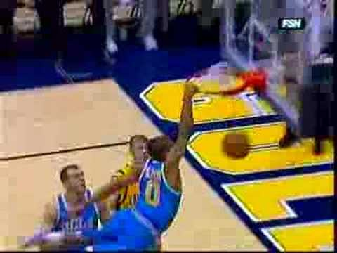 UCLA's Russell Westbrook dunk