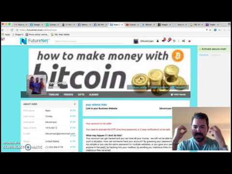 FutureNet : The 2 things to do when you join! Proof of $1,000+ pay days! l Ryan Conley Bitcoin