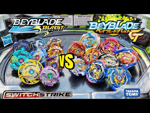 Beyblade Burst SWITCHSTRIKE vs. GT BEYBLADES  / Hasbro vs. Takara Tomy Elimination Tournament
