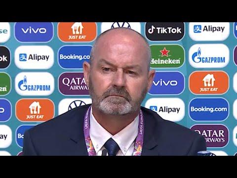 Scotland 0-2 Czech Republic - Steve Clarke - Post-Match Press Conference - Euro 2020
