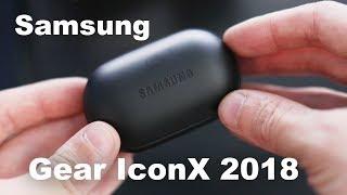 Обзор Отзыв Samsung Gear IconX 2018
