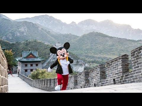 Mickey Travels Through China