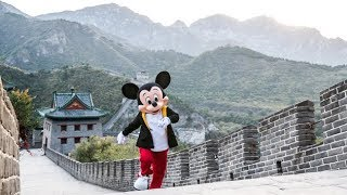 Mickey Travels Through China
